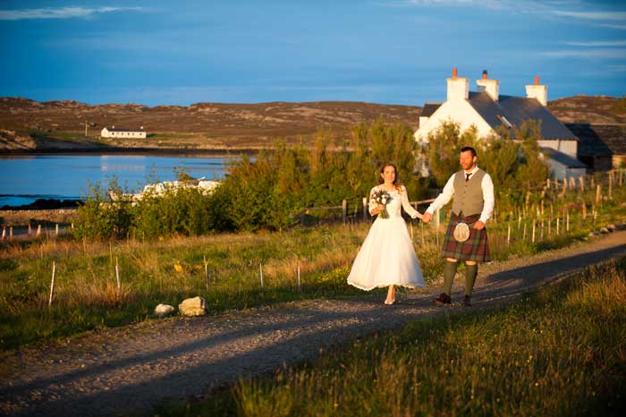 Isle of Coll wedding
